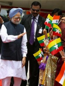 Manmohan Singh Visits Myanmar Photo Credit The Hindu