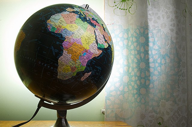 Let Us Draw On the Globe