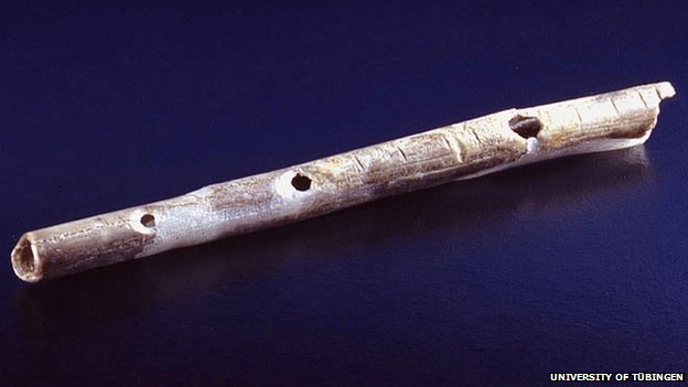 Oldest flute found in a cave