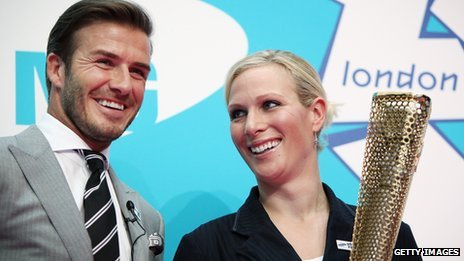 David Beckham to carry olympics torch, Photo Credit BBC