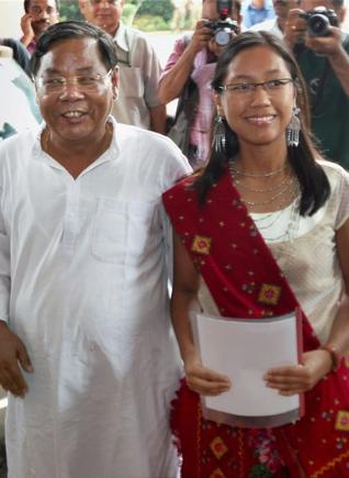 PA Sangma in Presidential race, Photo credit The Hindu