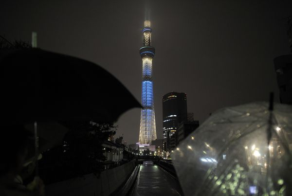 World's tallest tower, Tokyo Skytree, Photo Credit LA Times