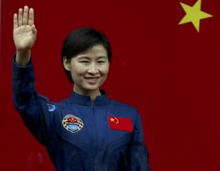 LiuYang, First Chinese woman in space Photo credit Hindu