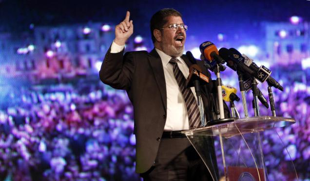 Mohamed Morsy new Egypt President