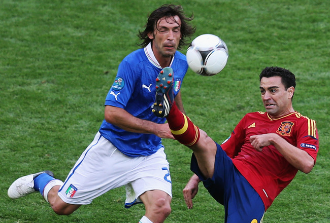 Italy Vs Spain in Euro Finals