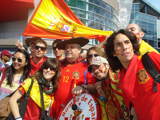Euro-2012, Spain wins quarterfinal