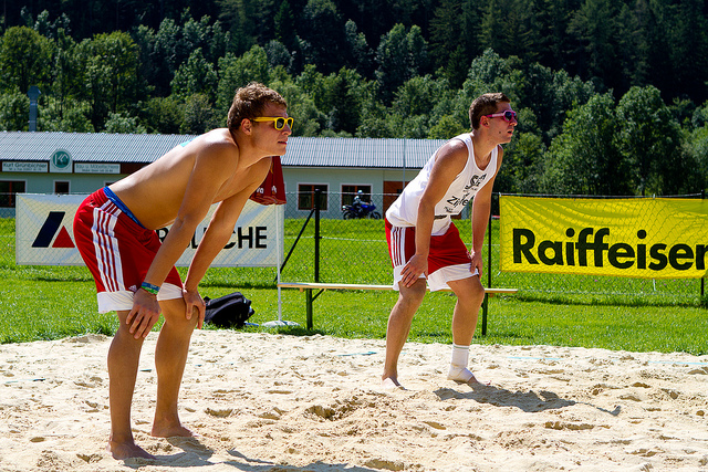 Olympic Sport Beach Volleyball
