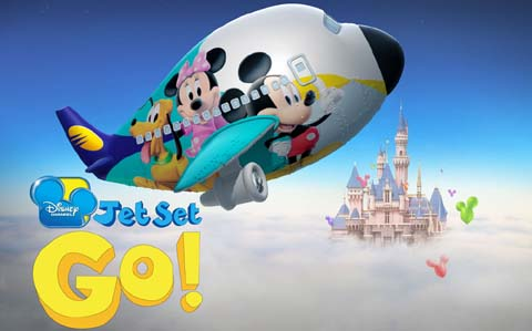 Favorite Disney Characters in the Sky, Photocredit:disney.in
