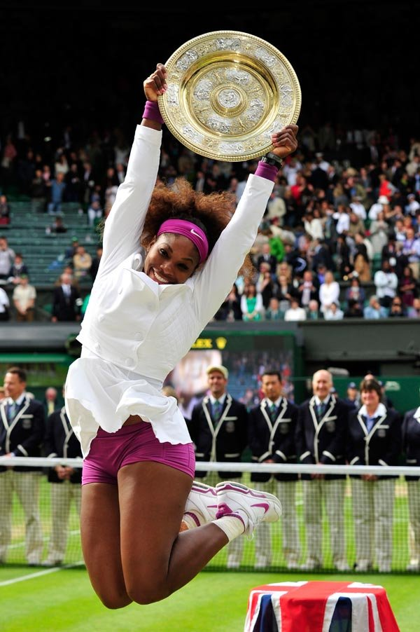Serena wins Wimbledon 2012, Photocredit:Yahoo