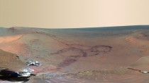 Spectacular View of the Red Planet,Photocredit:foxnews.com