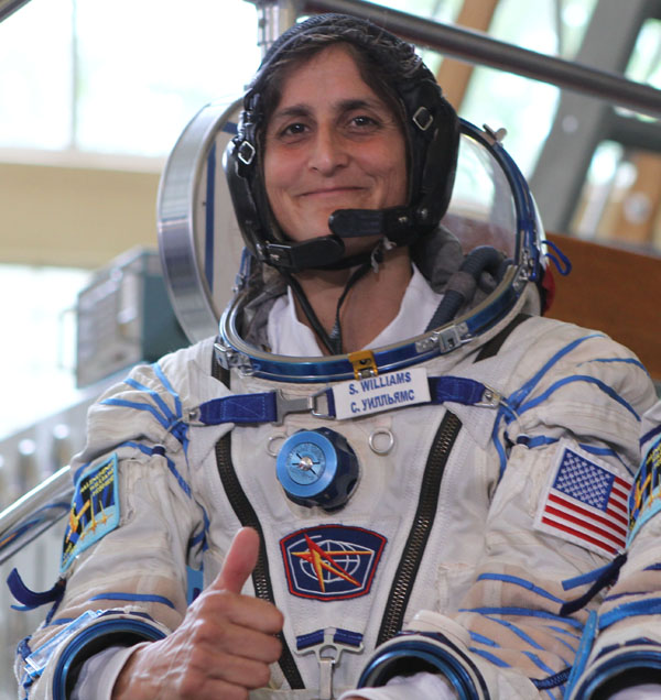 astronauts sunita williams - photo #13