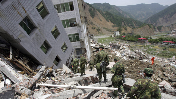 Western China Earthquake