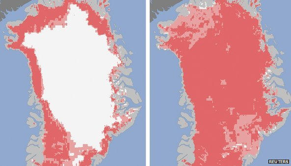 greenland-icesheet melt begin