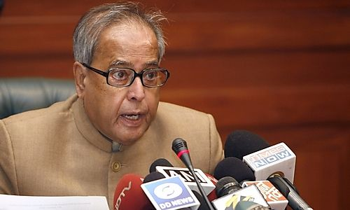 Pranab Mukherjee becomes the 13th President of India, Photocredit:centralchronicle