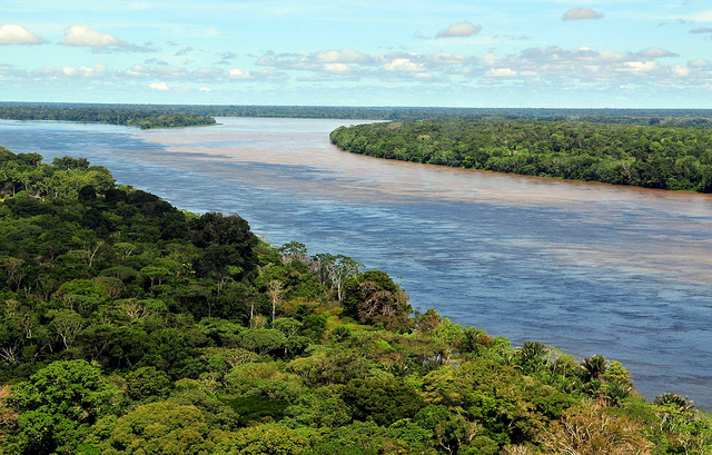 The Enormous Amazon River