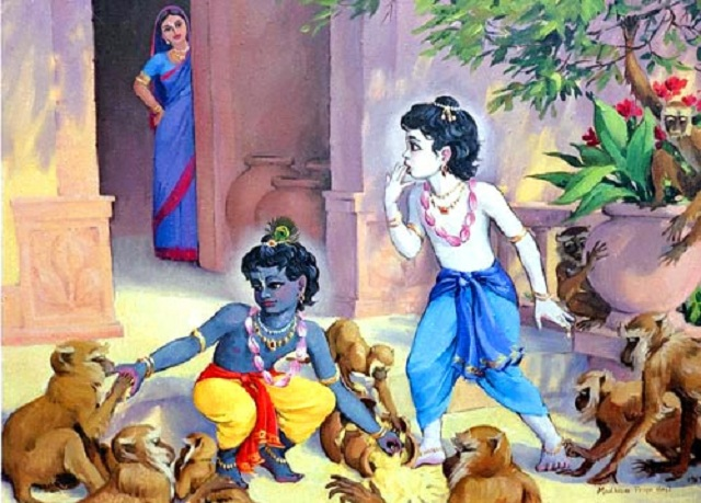 The Butter Thief - Janamashtami