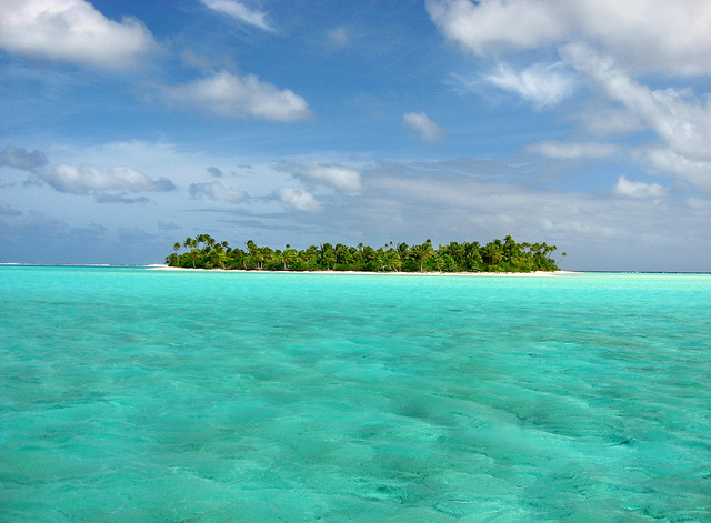 World's largest marine park at cook island