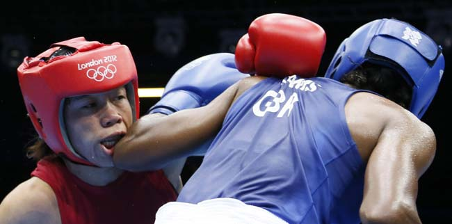 Mary Kom gets another Bronze for India