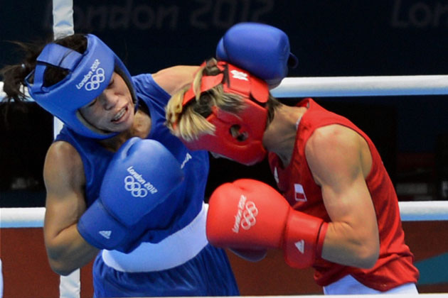 Mary Kom marches into semi finals Olympics 2012