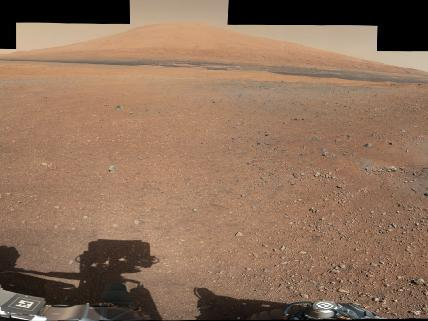 Curiosity 12 miles away from mount sharp