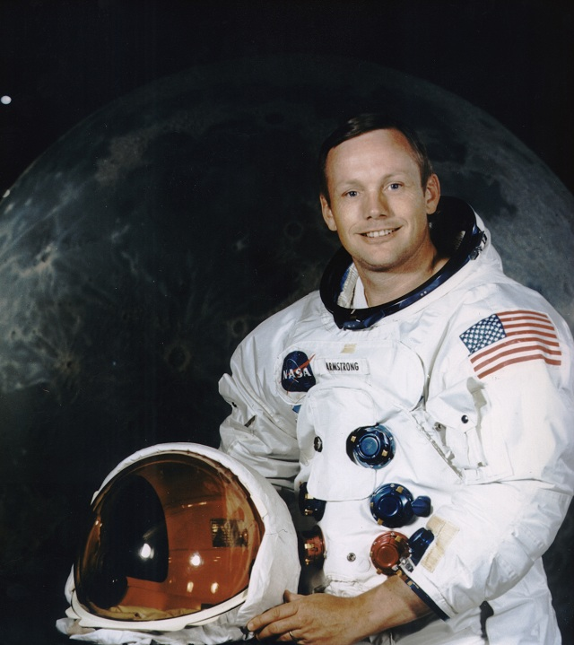 First man to walk on the moon Neil Armstrong passes way