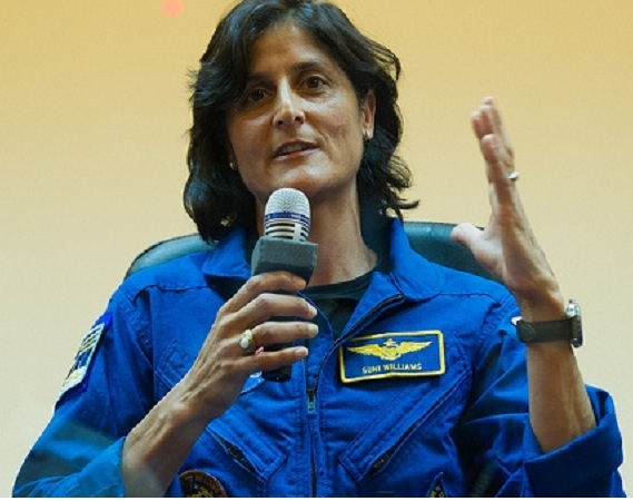 Sunita Williams takes charge of ISS