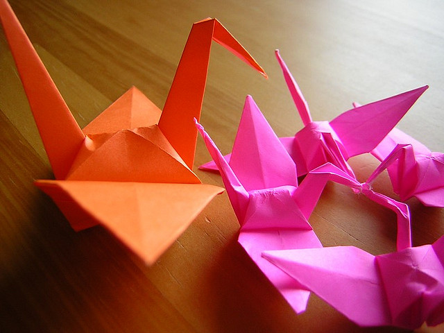 origami the paper folding craft