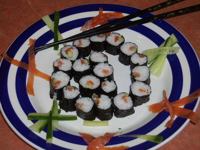 Sushi the world famous raw fish originated in Japan