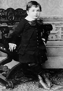 Albert Einstein as a baby