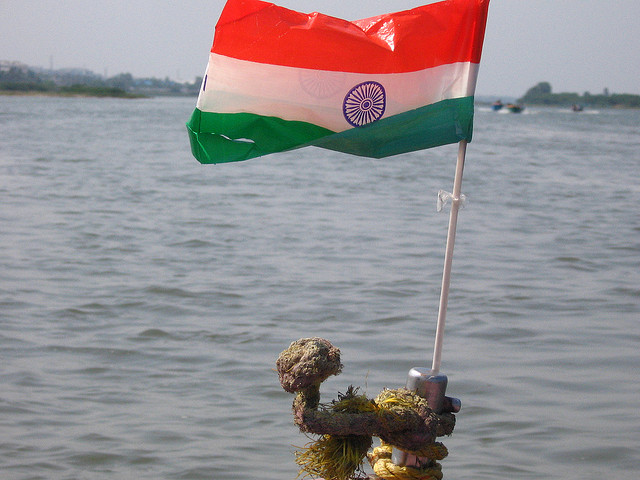 Plastic Indian flags might be banned