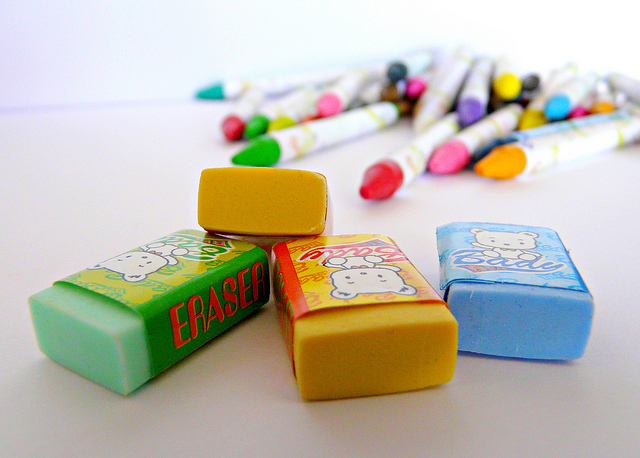 How do erasers work?