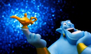 Don't be a genie, Be a parent