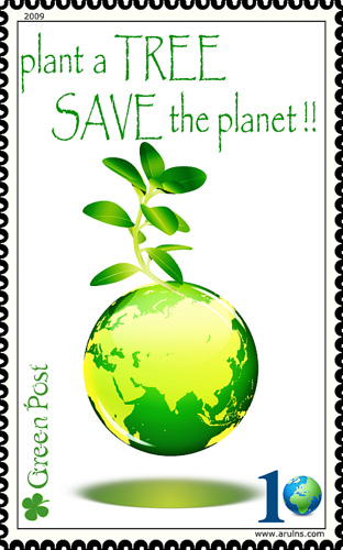 Plant a tree and save planet