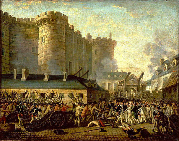 Attack on the Bastille prison