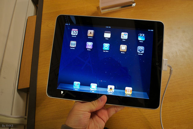 Easy to hold Ipad