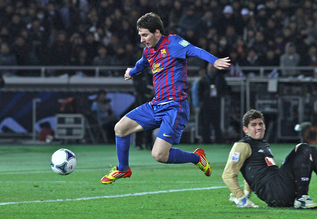 Lionel Messi to play for Barcelona untill 2018