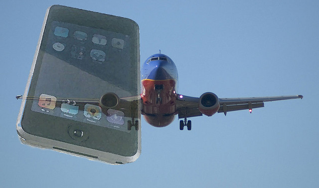 Why don't phones work on airplane?