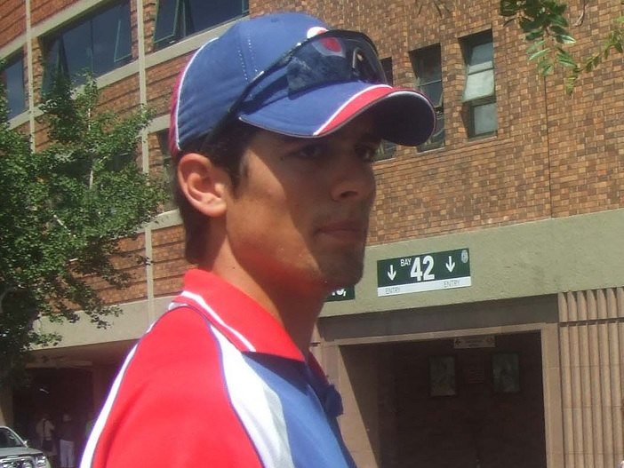 English cricketer Alastair Cook
