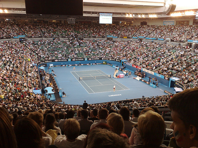 Australian open - End of week 1