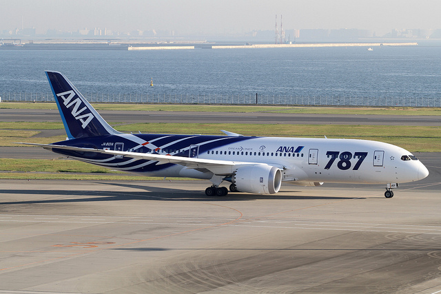 Tokyo International Airport,Boeing 787 Dreamliner, All Nippon Airways(ANA)