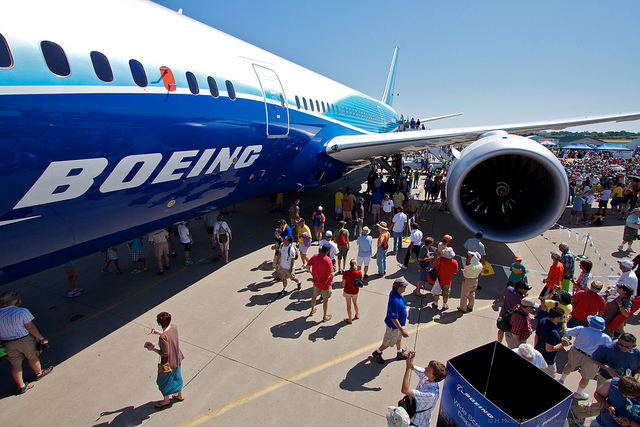Boeing 787 audience