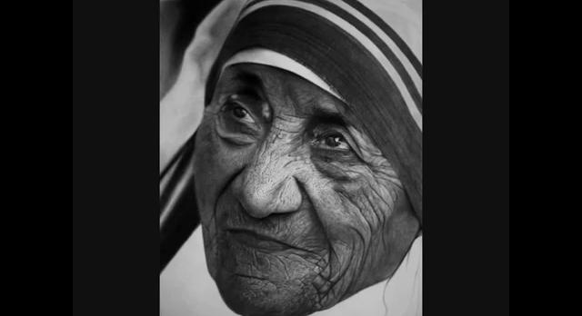 Mother Teresa Pencil art