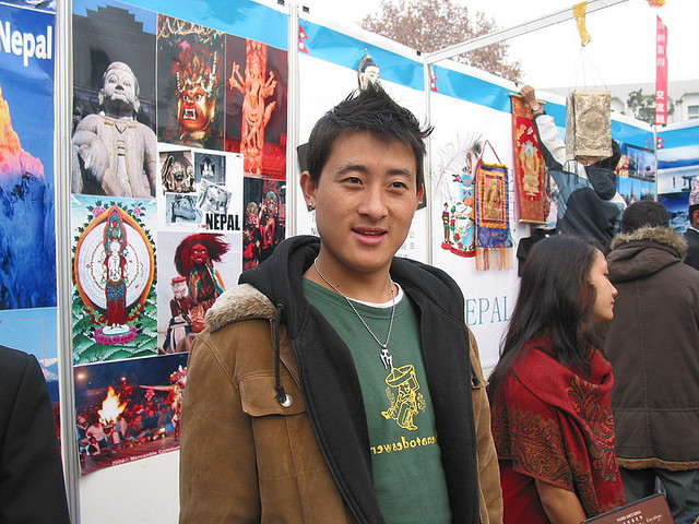 Temba Tsheri Sherpa, the youngest person to climb Mt.Everest