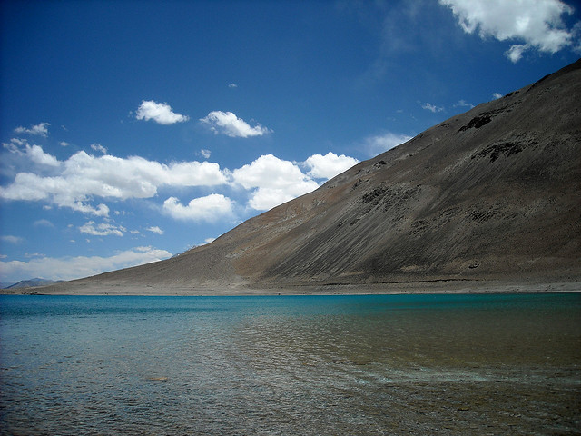 Lake Pangong in Ladakh