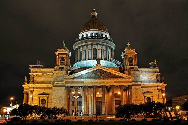 Russia's -St Issac-cathedral