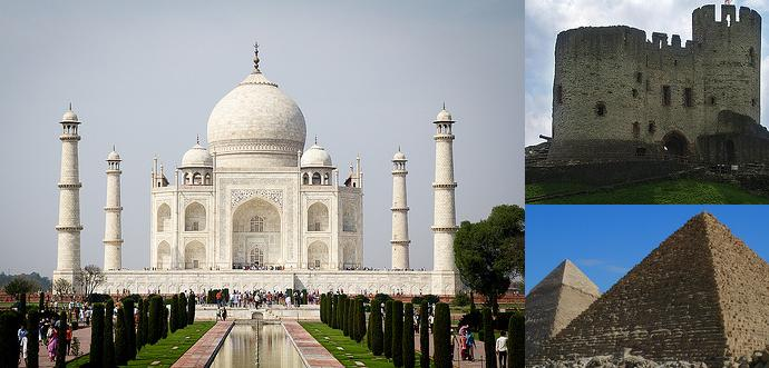 Famous stone structures