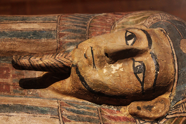 A mummy from the Mabee-Gerrer Museum of Art, Oklahoma.