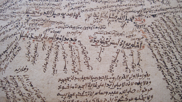 Manuscripts at timbuktu