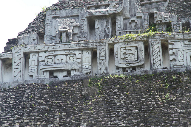 Ruins of the maya civilisation