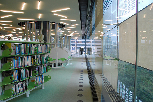 Sendai Mediatheque library
